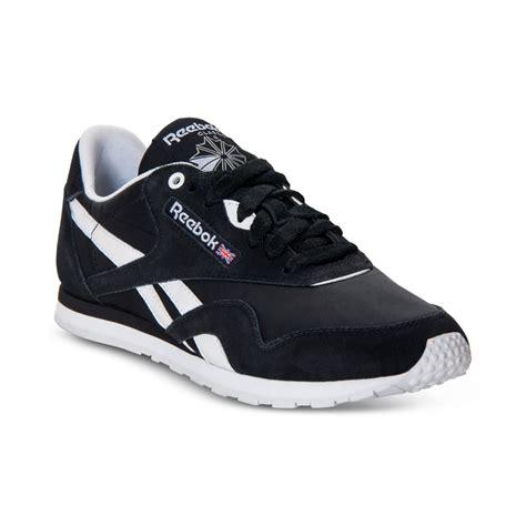 reebok classic slim monocolor casual sneakers in