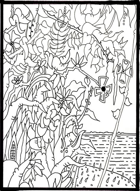 artistic coloring pages all your favorite contemporary artists in one coloring book huffpost