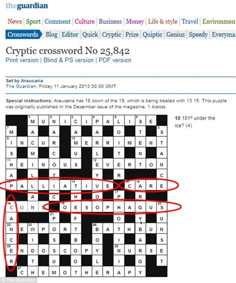 wedding announcement in crossword araucaria uses one of his own puzzles to reveal he is