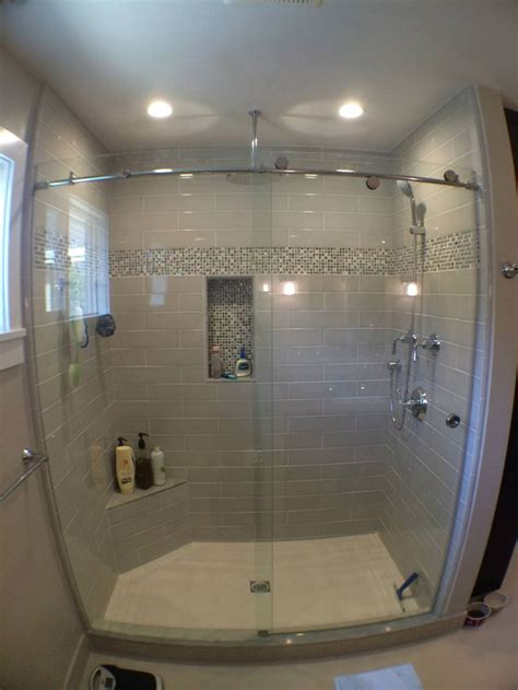 Skyline sliding heavy glass door master bathroom pinterest glass doors doors and shower doors