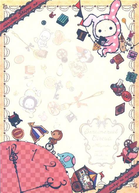imagenes de sentimental circus sentimental circus memo pad with rabbit sweets memo