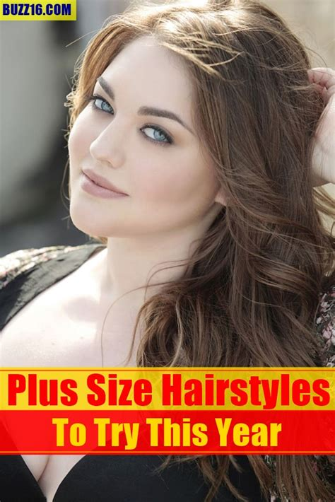 hairstyles for plus size women with thick curly hair short haircuts for plus size woman over 30 short