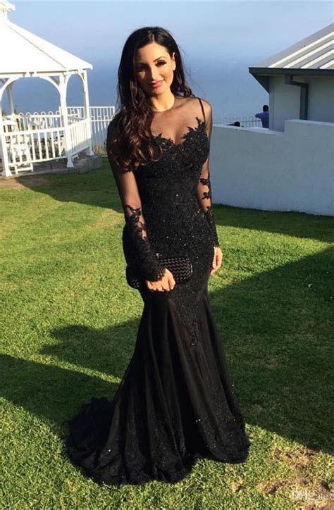 best black dress 25 best ideas about black prom dresses on