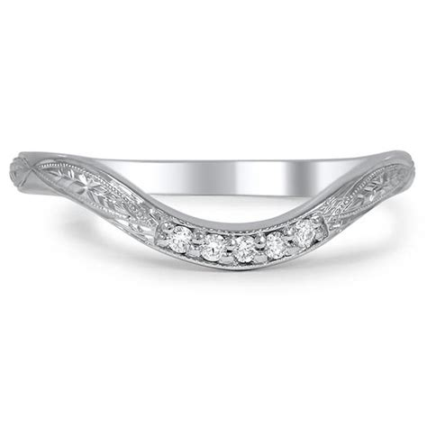 A Wedding Band by How To Pair A Unique Estate Ring With A Wedding Band