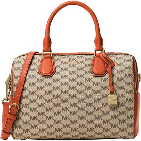 Ready Tas Mk Mercer Lugg 1 michael kors mercer medium duffel handbags apparel shop the exchange