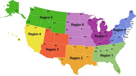 map of the 5 regions of the united states united states map divided into 5 regions sosregions home