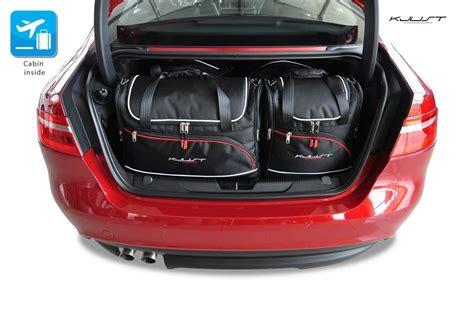Jaguard Set 4 kjust jaguar xe 2015 kofferraumtaschen set 4 stk autotaschen sets jaguar xe 2015