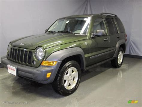 jeep green 2006 jeep green metallic jeep liberty sport 4x4 26355722