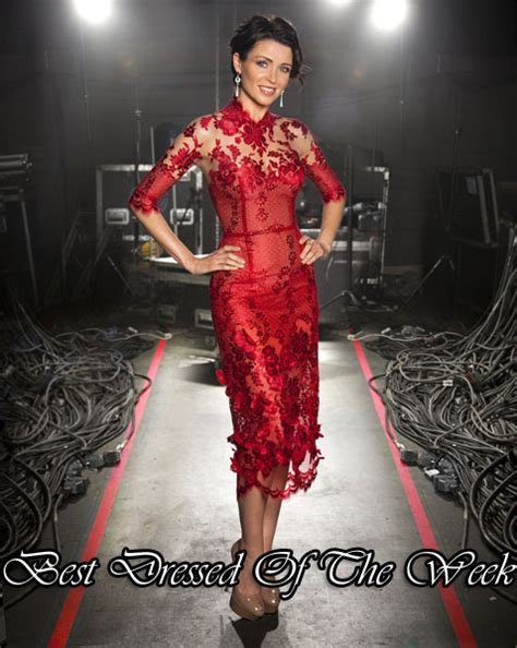 Catwalk To Carpet Danni Minogue by Best Dressed Of The Week Dannii Minogue In J Aton