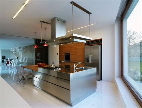 stainless steel kitchen designs 18 beautiful stainless steel kitchen design ideas