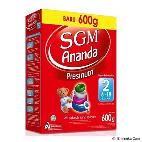 Sgm Presinutri 2 jual produk kebutuhan makanan dan formula bayi dan