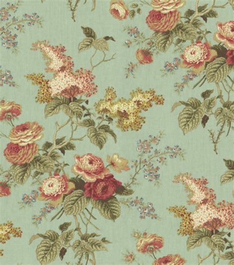 waverly home decor fabric home decor print fabric waverly emma s garden mist at
