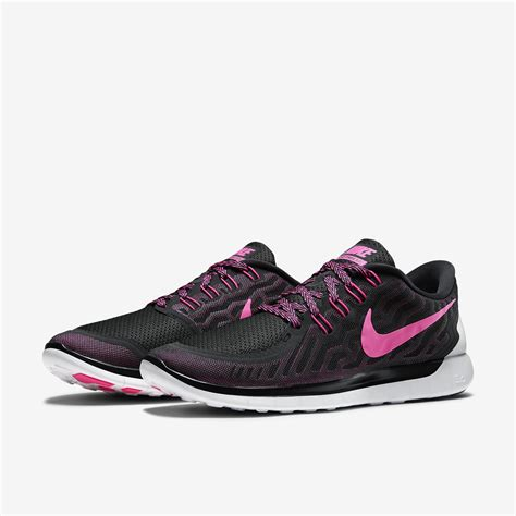 nike womens pink running shoes nike womens free 5 0 running shoes black pink