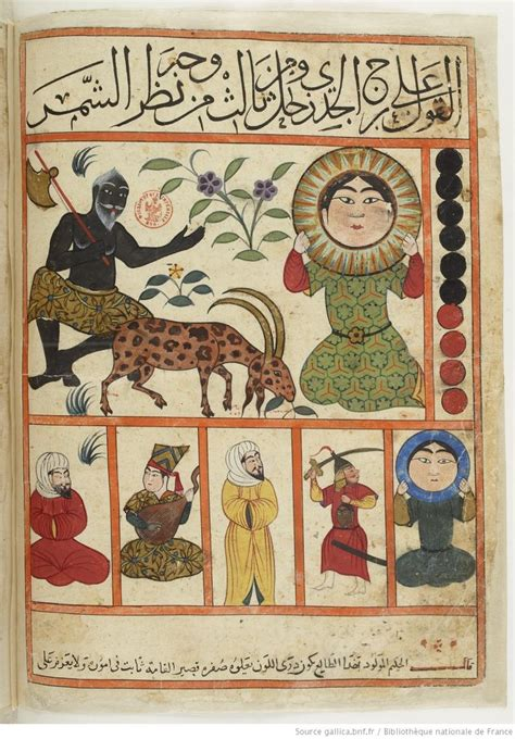 folio 30r the art of 78 best images about kitab al mawalid book of nativities on persian pisces and satan