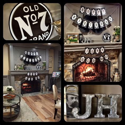 Jack Daniel's Birthday Decor   Jack Daniel's Birthday