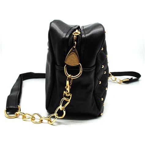 Tas Selempang tas selempang wanita model rivet black jakartanotebook
