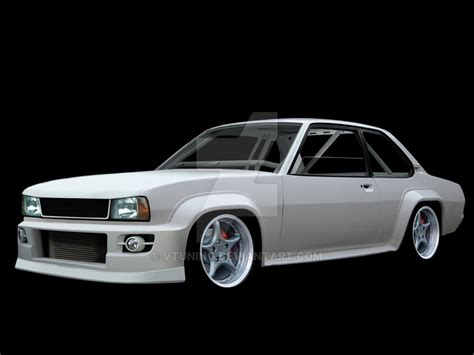opel ascona tuning opel ascona project by vtuning on deviantart
