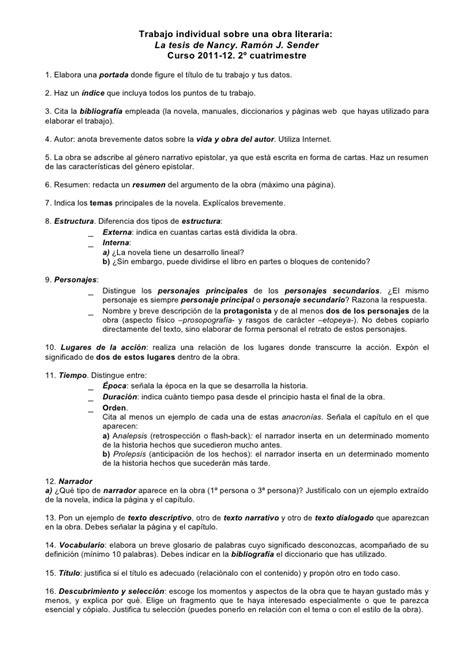 arde el desierto 8499678831 la tesis de nancy en pdf la tesis de nancy ramon j sender novelas y cuentos 125