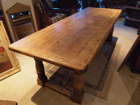 farmhouse table seats 10 table solid elm farmhouse refectory dining table seats 8