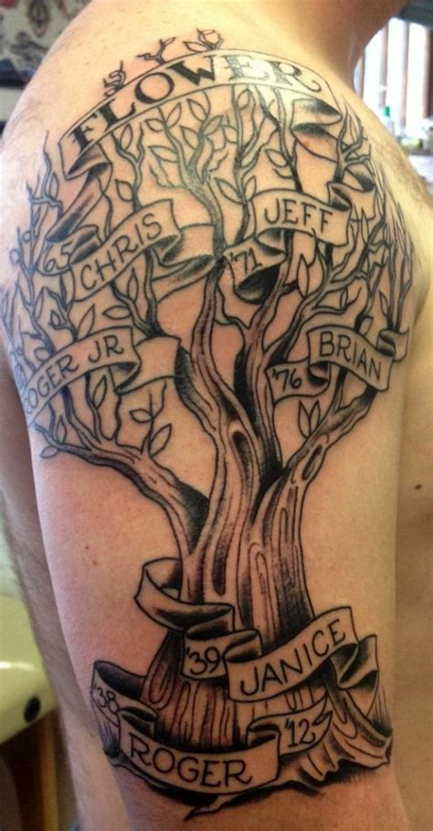 family tree tattoo for men 30 family tree tattoos family tree tattoos tattoos