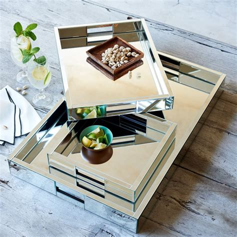 Mirrored Tray For Coffee Table by Mirrored Coffee Table Tray Furniture