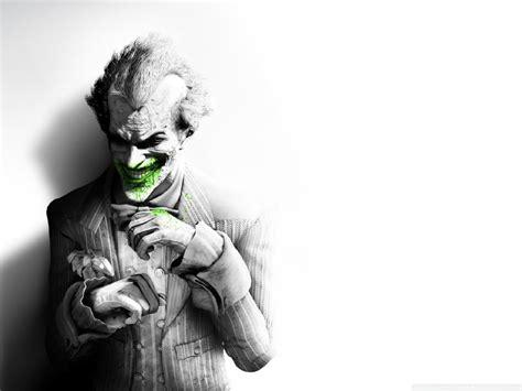 joker arkham city  hd desktop wallpaper   ultra