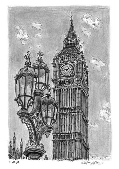 big ben original drawings prints and limited editions