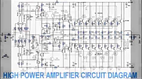 power amplifier design power amplifier design youtube