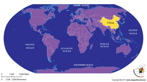 world map highlight cities which country has highest population answers