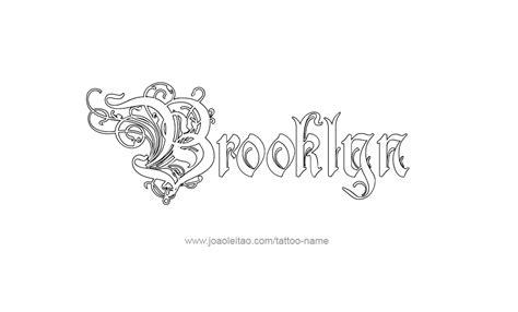 tattoo ideas for the name brooklyn tattoo design name brooklyn 22 png