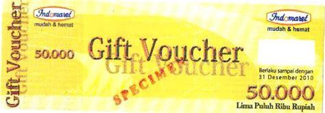 Voucher Belanja Indomaret Senilai 100rb voucher belanja indomaret 50 ribu 8 50 hadiah