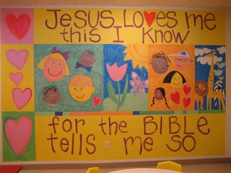 Sunday School Decorations by Painting Ideas For Preschool Sunday School Room Pictures