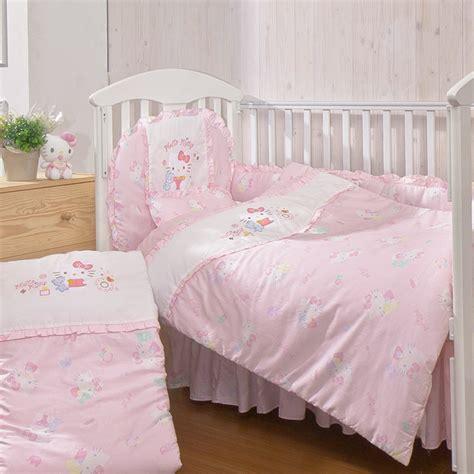 hello kitty crib bedding camay infants co ltd product hello kitty baby 7pcs