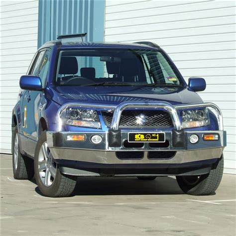 Suzuki Nudge Bar Suzuki Grand Vitara Ecb Alloy Bullbar Nudge Bars Bull Bars