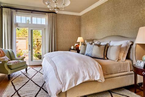metallic bedroom wallpaper interior design ideas home bunch