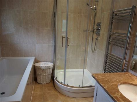 ended bath with shower master bathroom with ended bath shower langton lodge luxury hurstpierpoint