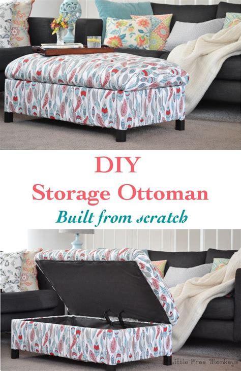 diy upholstered storage ottoman best 25 ottoman with storage ideas on pinterest storage