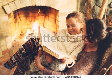 the evenings a winter s tale books child reading book relaxing by stock photo 481436944