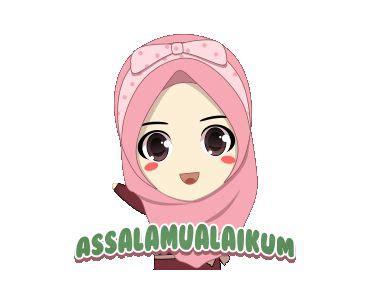 naira assalamualaikum ukhti muslim emoji cute cartoon