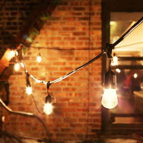 Patio Light Strands Lights String Lights Vintage String Lights Heavy Duty 15 Socket Vintage Light Strand