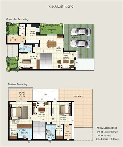 3bhk house plan 3 bhk house plans in bangalore