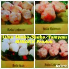Bola Lobster Minaku By Deponugget depo nugget nugget ikan minaku