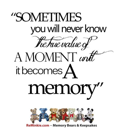 memory quotes memory quotes memorial quotes reminkie memory bears