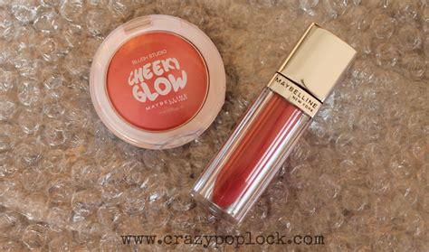 Maybelline Blush On Cheeky Glow Fresh Coral maybelline review cheeky glow blush fresh coral and lip