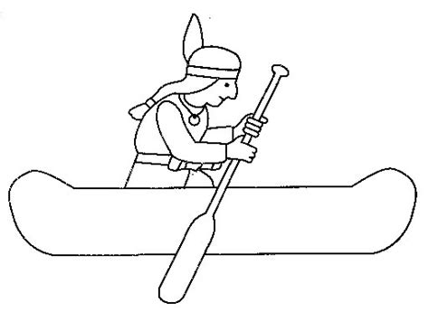 indian canoe coloring page indian canoes pictures to color pictures to pin on