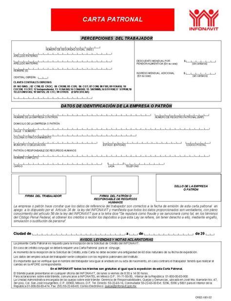 constancia de impuestos del infonavit constancia de impuesto de infonavit carta para declaracion
