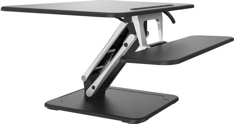 sit to stand adjustable desk riser desk risers nz kogan sit to stand desk riser small white
