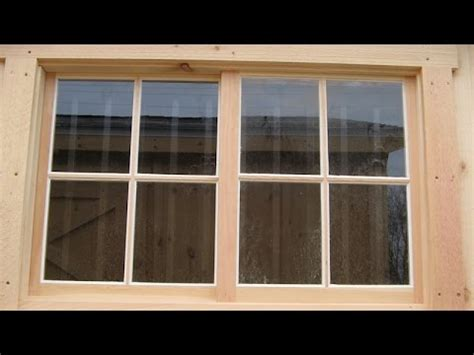 installing windows house installing a wood window by yourself how to install new windows in your house youtube