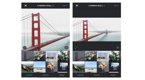 instagram update terbaru  support foto landscape