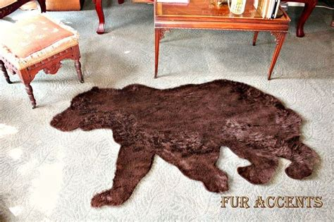grizzly skin rug 25 best ideas about skin rug on rug